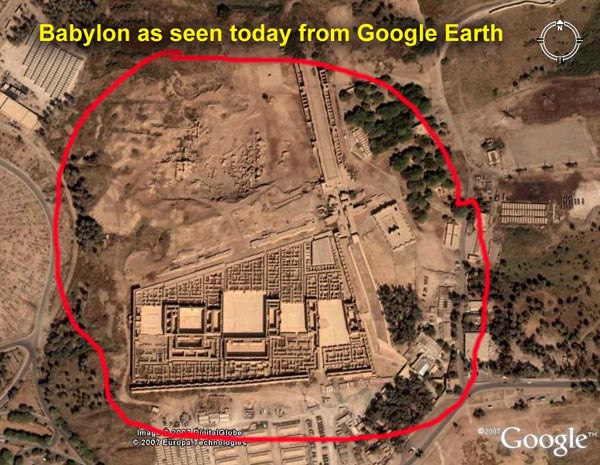 Finally, ancient Babylon, the city, may reappear. They have been ...