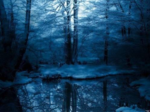 blue-snow