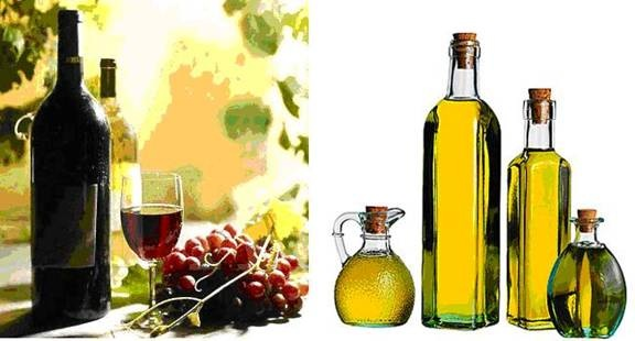 Image result for oil and wine