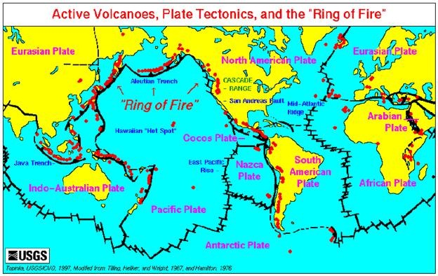 Cayce Prophecy About Italys Volcanoes Heaven Awaits - Edgar cayce future us map