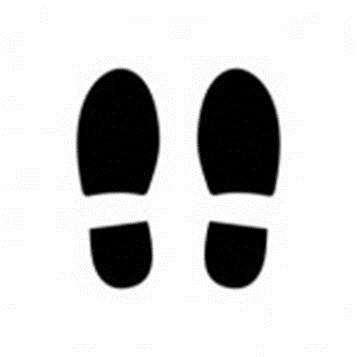 School Shoes Clipart Black And White