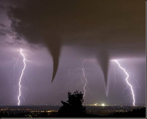Tornadoes Forming